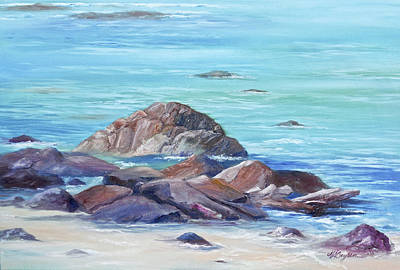 Ocean Emotion #3 Art Print
