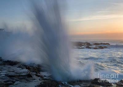 Ocean Explosion Original by Mike  Dawson