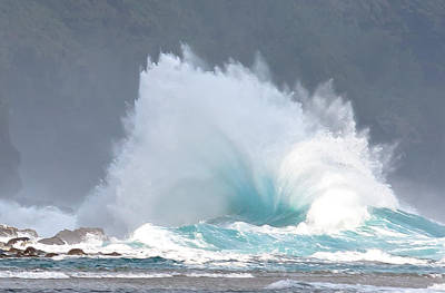 Photograph - Ocean Explosion by Roger Mullenhour