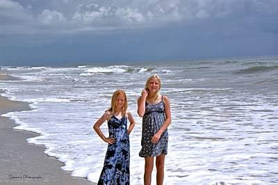 Photograph - Ocean Girls by William Stewart