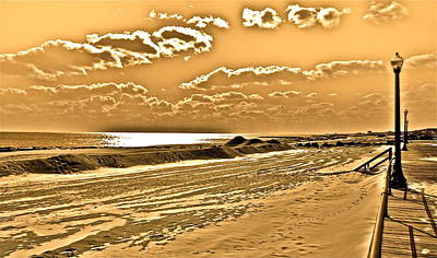 Photograph - Ocean Glow by Joe  Burns