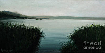 Cape Cod Painting - Ocean Grass by Paul Walsh
