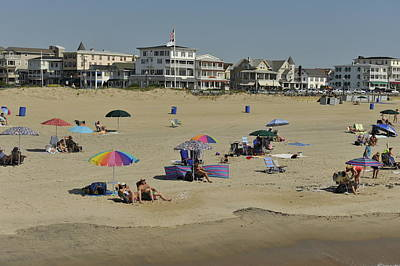 Ocean Grove Beach Art Print