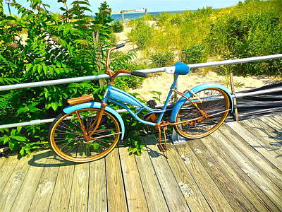 Photograph - Ocean Grove Bike by Joan Reese