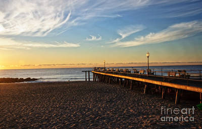 Photograph - Ocean Grove Sunrise by Debra Fedchin