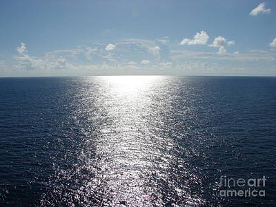 Ocean Horizon Art Print