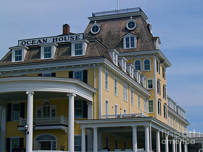 Photograph - Ocean House In Watch Hill - Rhode Island by Anna Lisa Yoder