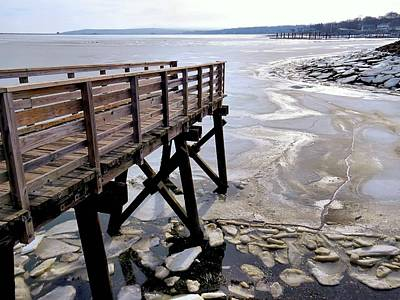 Photograph - Ocean Ice by Janice Drew