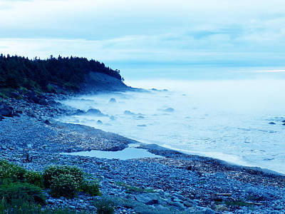 Canada Photograph - Ocean In The Mist by Zinvolle Art