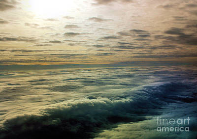 Ocean In The Sky Art Print