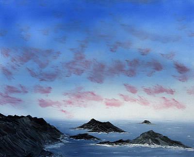 Ocean Islands Art Print
