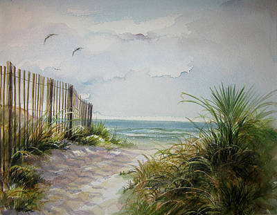 Ocean Isle Beach Sold Art Print