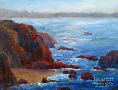 Painting - Ocean Light by Carolyn Jarvis