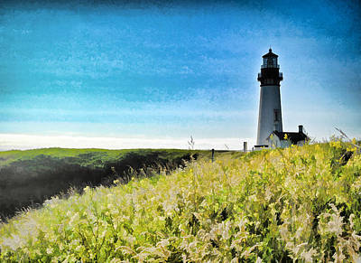 Photograph - Ocean Lighthouse  by Steve McKinzie