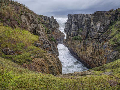 Photograph - Ocean Meets Land by Kim Andelkovic