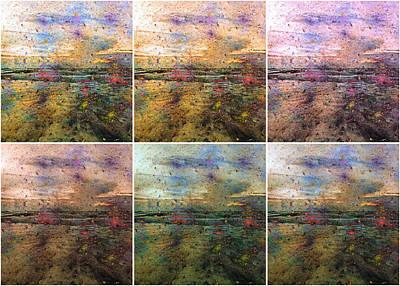 Imaginative Digital Art - Ocean Morning V by Betsy Knapp