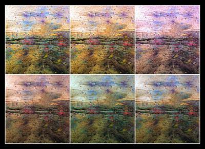 Abstract Digital Art - Ocean Morning Vi by Betsy C Knapp