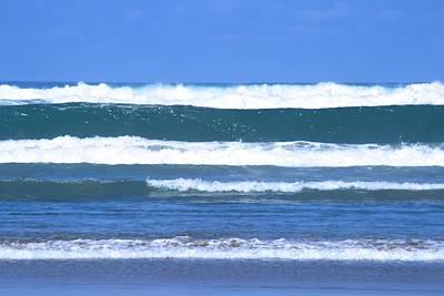 Photograph - Ocean New Zealand by Phoenix De Vries