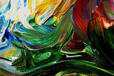Painting - Ocean Of Mind  Abstract by Marie Jamieson