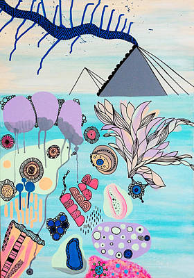 Ocean Parade Art Print by Susan Claire