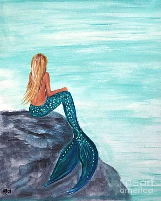 Painting - Ocean Peace by Leslie Allen