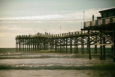 Photograph - Ocean Pier 1 by Gigi Ebert