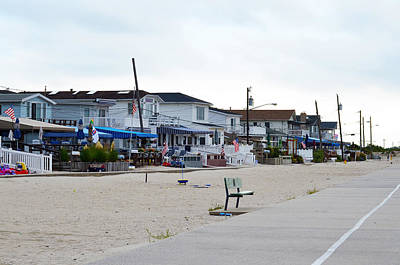 Ocean Promenade Sugar Bowl To Reid Summer 2012 Art Print