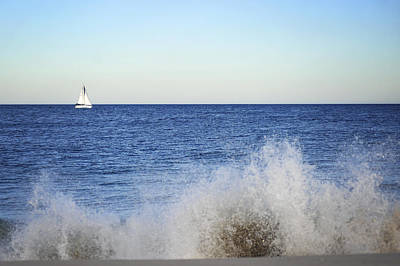 Photograph - Ocean Sail by Terry DeLuco