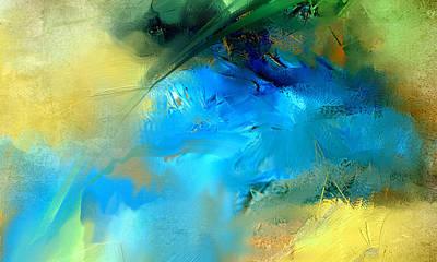 Digital Art - Ocean Sapphire by Davina Nicholas