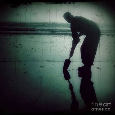 Photograph - Ocean Shores Clam Dig by Patricia Strand