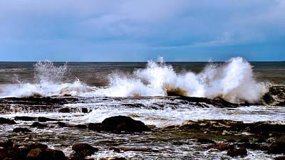 Art Print featuring the photograph Ocean Spray 2 by Joseph Hollingsworth