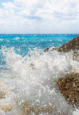 Waterscape Photograph - Ocean Spray by Garvin Hunter