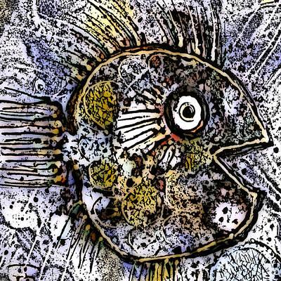 Ocean Sunfish Art Print by Selke Boris