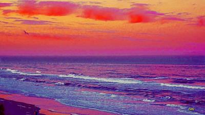 Ocean Sunset 1 Art Print