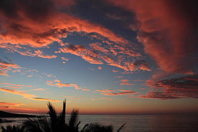 Photograph - Ocean Sunset by Shane Bechler