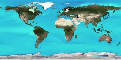 2000s Photograph - Ocean Surface Ph by Noaa