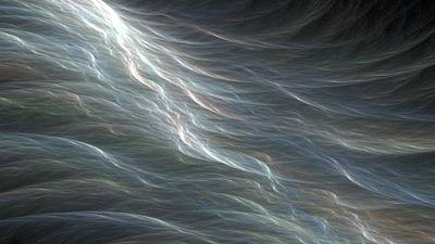 Digital Art - Ocean Swell Fractal by Doug Morgan