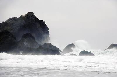Photograph - Ocean Thunder by Donna Blackhall