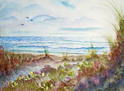 Ocean Painting - Ocean Twilight by Kathryn Duncan