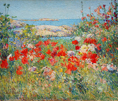 Beautiful Scenery Painting - Ocean View by Childe Hassam