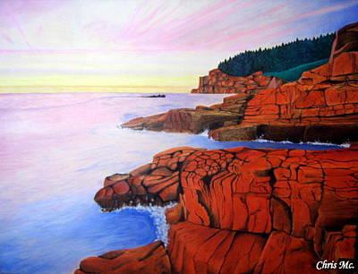 Ocean View Art Print by Chris Mc