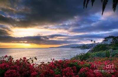 Photograph - Ocean View by Eddie Yerkish