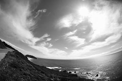 Ocean View From Pacific Coast Hwy Original by Sarah Kramer