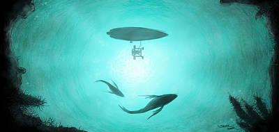 Ocean View Art Print by Sasank Gopinathan