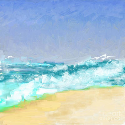 Painting - Ocean Vigor by Kristen Fox