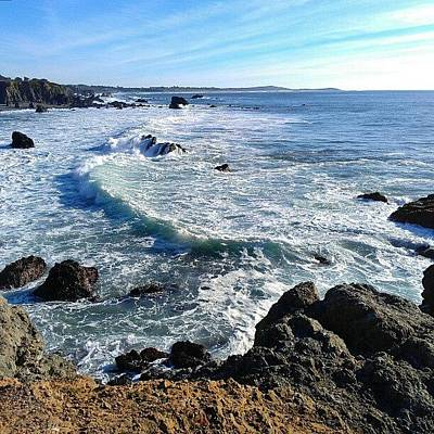 California Photograph - Ocean Vista by CML Brown