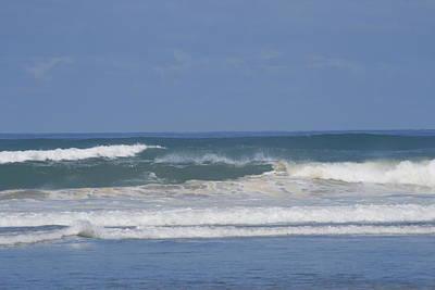 Ocean Wave 1 Print by Phoenix De Vries