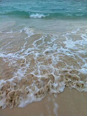 Ocean Wave Caress Art Print