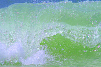 Photograph - Ocean Wave by Karen Adams