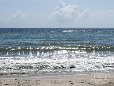 Clouds Photograph - Ocean Wave by Zina Stromberg
